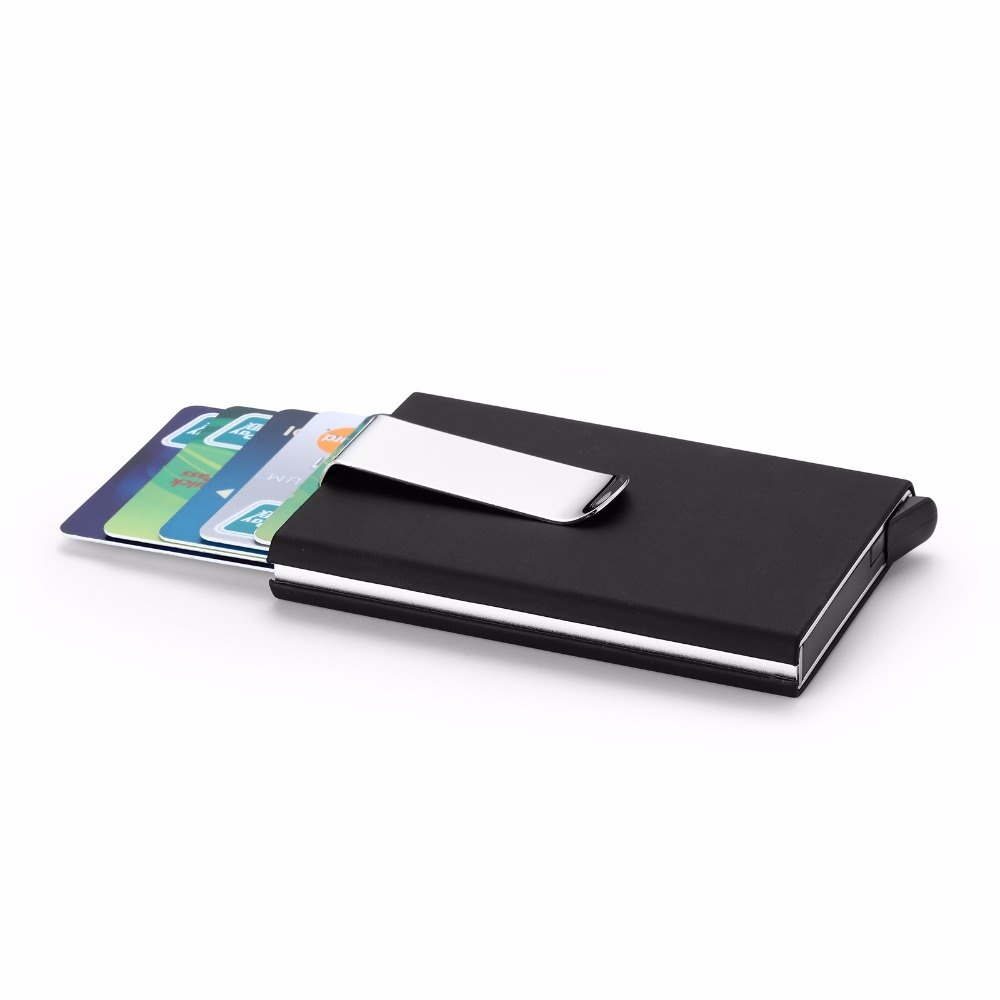 Automatic Credit Card Holder Multi function Men\'s ID Business Cards ...