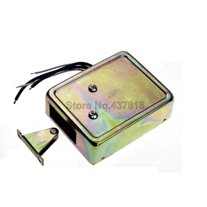 Mini Electric Cabinet Lock Small Electric Drawer lock Safety Deposit Box  Lock 7b129f4197445