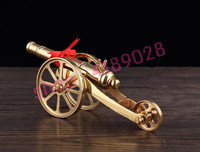 Pure copper cannon model, home feng shui accessories