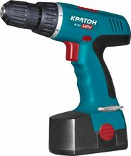 Cordless Drill KRATON CDH-12-KL 12 V 1.5 Ampere hours NiCd 0-350 / 0-90 / min 18 Nm bits, drills, in the case.