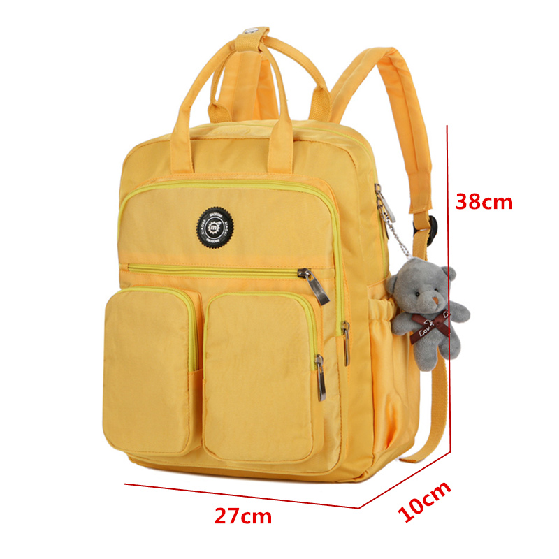 Soft Handle Multi-Pocket Waterproof Women's Work Backpack