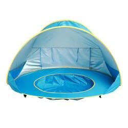 Дети Детские игры пляж палатка Портативный построить открытый Sun детский бассейн играть дома палатка Игрушки для маленьких детей