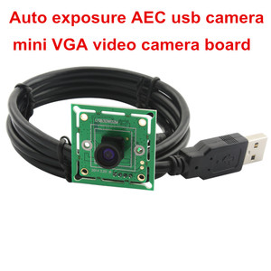Image 5 - ELP 300K פיקסלים VGA USB2.0 OmniVision OV7725 צבע CMOS חיישן 60fps USB מצלמה מודול עם רחב זווית 120 תואר m7 עדשה