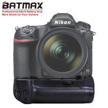 Suporte vertical de bateria para câmeras dslr batmax MB-D18 d850, suporte vertical de bateria para câmeras d850 MB-D18 dslr nikon com EN-EL15a EN-EL15 ou 8x batedor aa