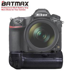 Batmax Battery-Grip-Holder D850 En-El15a-En-El15 MB-D18 8x-Aa Dslr-Cameras Vertical Nikon