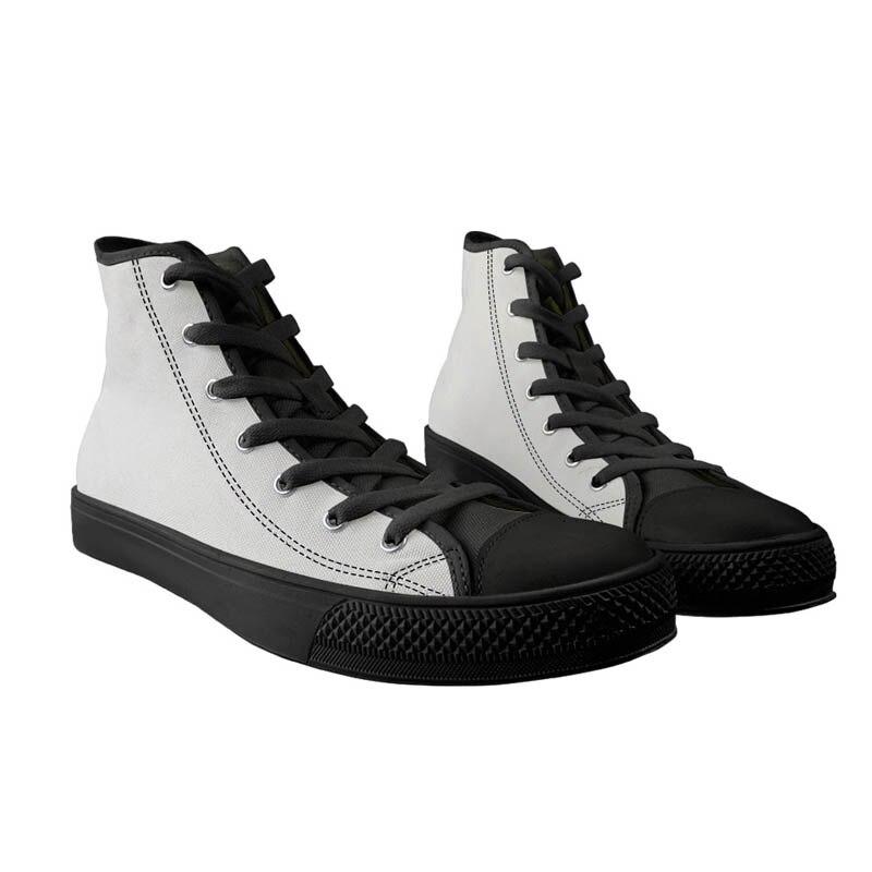 Chaussures de toile de modèle de guitare de mode de deuxceursgirl haut décontracté chaussures vulcanisées des femmes baskets plates classiques à lacets femme - 2