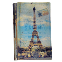 20pcs/lot Retro Post Cards Variety Pack of Old Style Poster Postcards, World Landmark Postal Card Artwork Collection