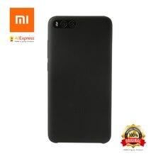 Фотография Xiaomi Mi Note 3 Silicone Case Original Mi Note3 Silicone PC Microfibre MiNote3 Cover Black and White + PET Screen Protector
