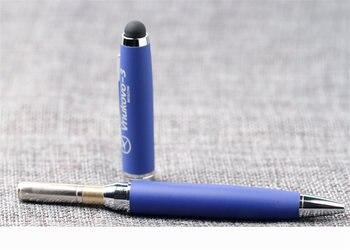 0814/0817 Модные линии авторучки серебристой отделкой в клетку лучше
