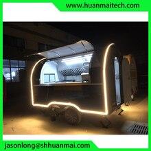 Mobile Food Truck Concession Trailer Caravan