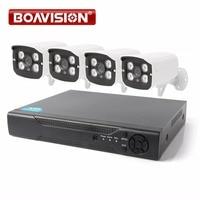 1080P AHD Camera Surveillance System 2000TVL Outdoor CCTV 4CH 1080P AHD DVR Hybrid Kit 4 1080P