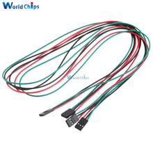 10Pcs 70cm 3pin Dupont Cable Female to Female 3 pin Jumper Wire for 3D Printer Dupont kit