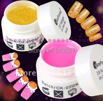 20 Glitter UV Color Gel Nail art