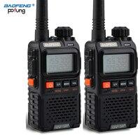 טוקי baofeng uv 3r 2 PCS Baofeng UV-3R פלוס מיני מכשיר הקשר CB Ham VHF UHF רדיו תחנת משדר Boafeng אמאדור Communicator Woki טוקי ווקי טוקי (1)