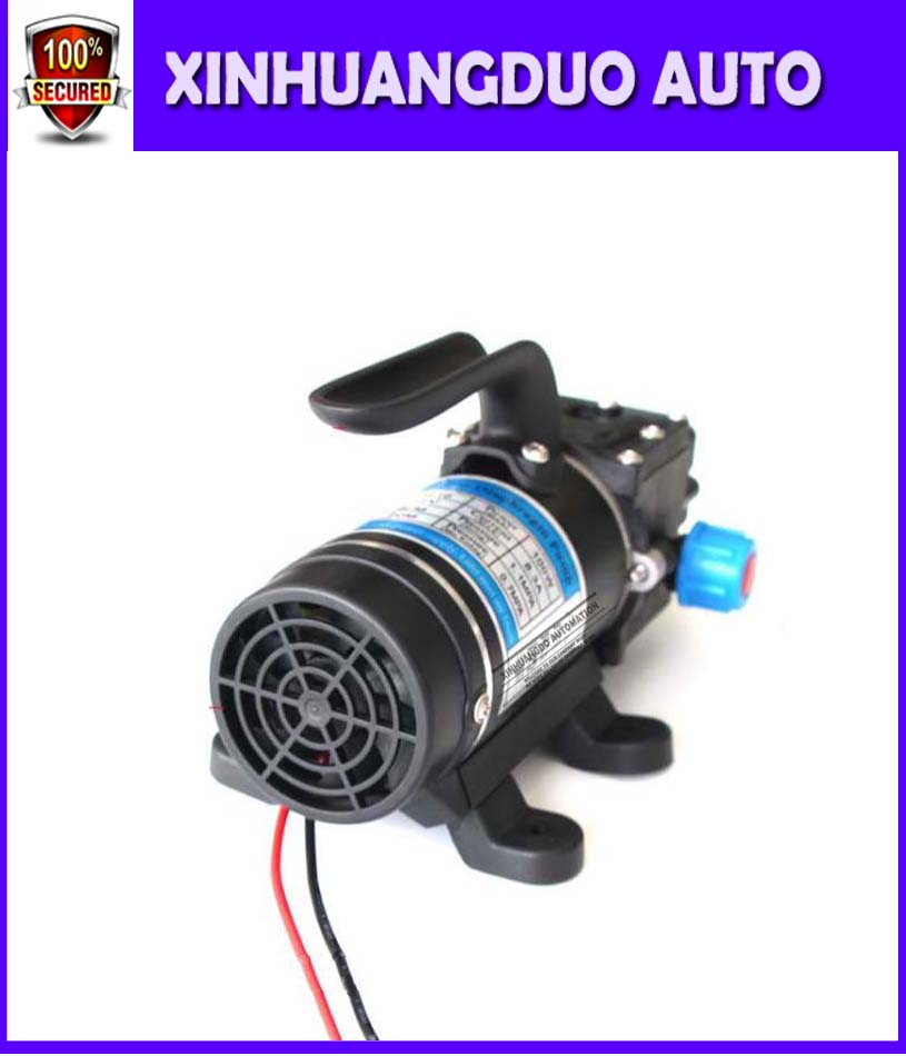 100w 8L/min With fan automatic pressure switch portable high pressure self priming mini dc 12 volt diaphragm water pumps spraye100w 8L/min With fan automatic pressure switch portable high pressure self priming mini dc 12 volt diaphragm water pumps spraye