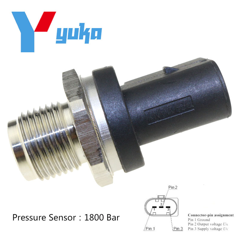 High Fuel Rail Pressure Sensor A0061533328 A0061536528 A0041536728 For MERCEDES BENZ W169 W245 W203 W211 2.0 2.2 2.7 3.2 CDI rambach mercedes benz e 220 cdi w211 136 л с