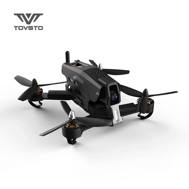 Tovsto Falcon 210 5.8G FPV Racing Drone 540TVL HD Camera RTF RC 6CH Quadcopter – Black Color F19541