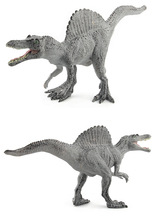 28CM Green Grey Spinosaurus Dinosaur Models Toys Action Figures Collection Learning Educational Children Gifts