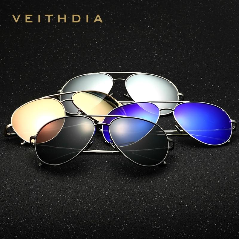 29211cde08131 2017 New Arrival VEITHDIA Vintage Pilot Brand Designer Sunglasses Men Women  Male Sun Glasses gafas oculos de sol masculino 3360 - us59