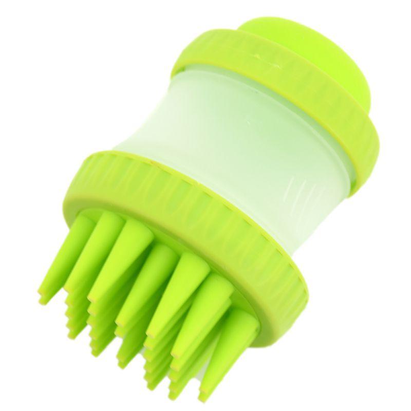 Новый Многофункциональный собака Ванна Массаж Pet Brush очистки Красота инструменты массаж устройства выпадение волос обрезки щетка для домаш...