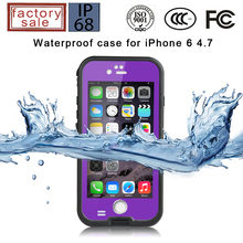 Original Redpepper Waterproof Case  For IPhone 6 6S 4.7 inch Hard PC+TPU Hybrid Cover,50pcs/lot