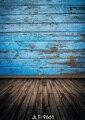Vinyl Tuch 3d Fotografie Kulissen Holzboden Blau Alten Holz Wand Foto Hintergrund Anpassen für Foto Studio Photophone