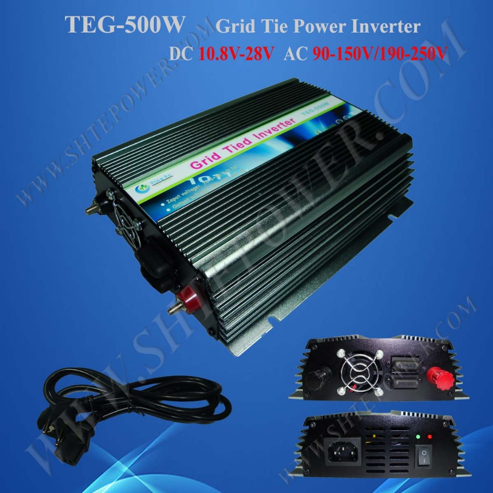 500w grid tie micro inverter 12v dc to 120v ac maylar 22 60vdc 300w dc to ac solar grid tie power inverter output 90 260vac 50hz 60hz