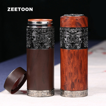 300cc Insulation Cup Purple Clay Tea Mug Flasks Water Bottle Yixing Teacup Portable Office Thermoses with Filter Business Gift