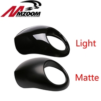 Free shipping Black Headlight Plastic Front Visor Fairing Cool Mask Bezel For 883 XL1200 Dyna Sportster FX Motorcycle