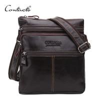 Fashion Genuine Leather Men Bags Brand Male Messenger Bag Cowhide Men S Shoulder Bags Men S
