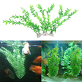 2017  3pcs Aquarium Artificial Plastic Underwater  Grass Green Plant for Fish Tank Aquarium Fish Tank Landscape Decoration