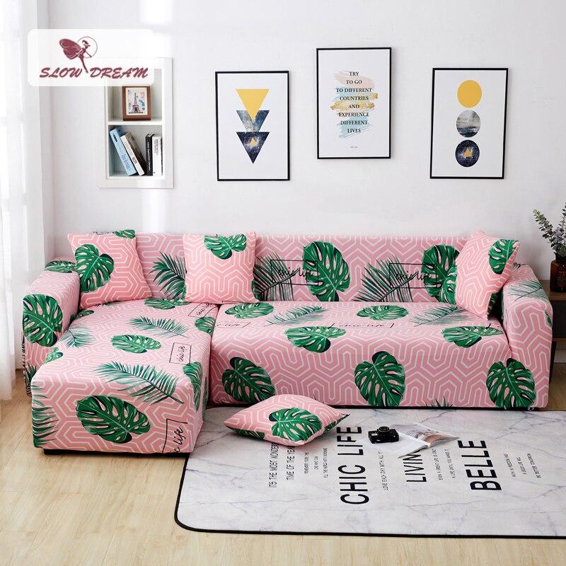 Slowdream Corner Sofa Cover Cape On The Sofa Home Seat