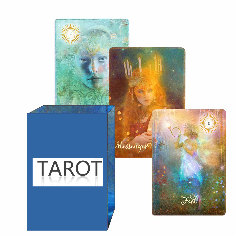 2018 new good tarot cards decks full English version for personal use board game