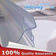 Me-309d2 резиновый экран для ванной и душа, большие уплотнения, водонепроницаемые полоски, стеклянные дверные уплотнители, длина: 850 мм, зазор: 10-17 мм