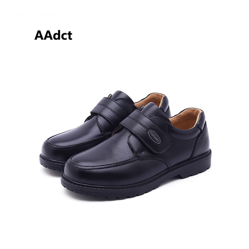 AAdct classical Genuine leather boys shoes casual Brand kids shoes for boys High-quality student school children leather shoes