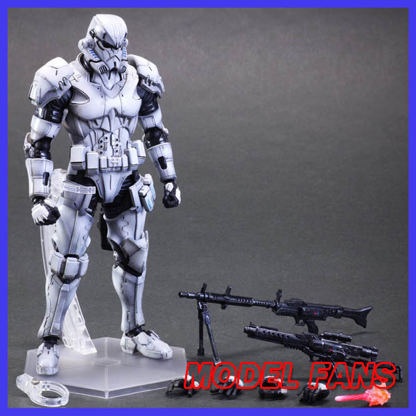 MODEL FANS New SQUARE ENIX PA change Play arts change Star Wars storm white soldiers bulk подвижная модель куклы play arts change square enix play arts spartan soldier