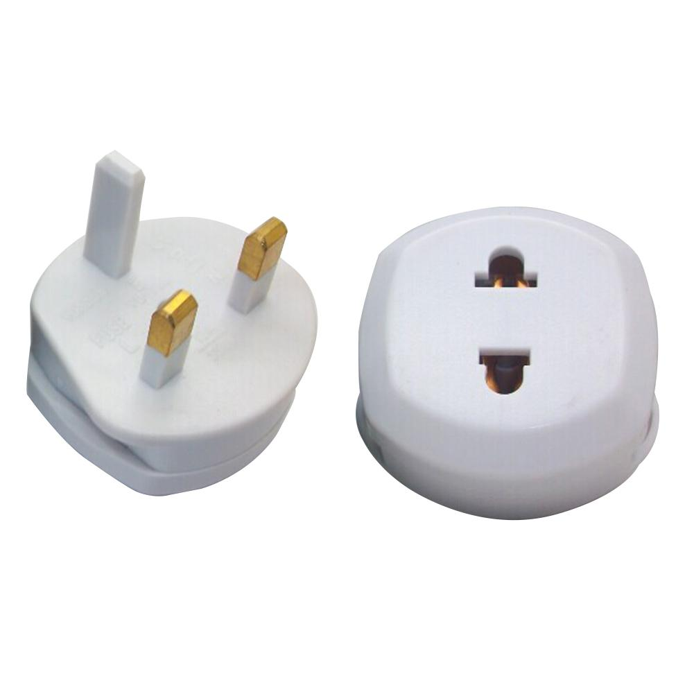 UK Conversion Plugs To 2 Pin Plug US EU Adapter