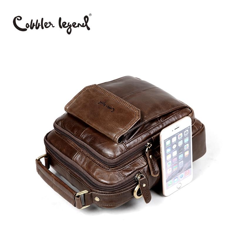 Cobbler Legend Genuine Leather Shoulder Bag For Men Men's Shoulder Bag
