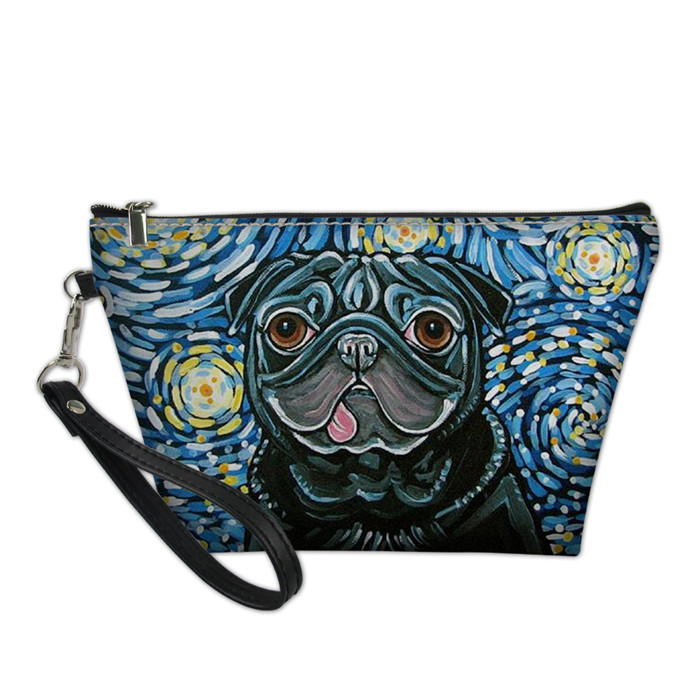 Children Girls Mini Coin Pet Purse French Bulldog Pug Purse for party bags gifts