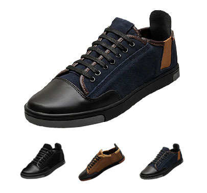 80323af3f1d 2015 Summer Fashion Zapatillas Hombre Casual Men Platform Sneakers Outdoor  Driving Leather Shoes Formal Sapatos Masculino CX440