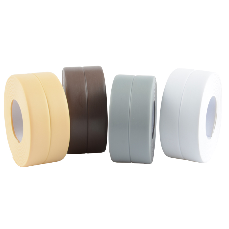 3M/Roll Soft PVC Bath Wall Sealing Strip Self Adhesive kitchen sink joint crevice sticker protection collision rubber strip3M/Roll Soft PVC Bath Wall Sealing Strip Self Adhesive kitchen sink joint crevice sticker protection collision rubber strip