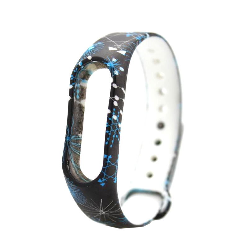 HANGRUI Colorful Xiaomi Mi Band 2 Wristband Miband 2 Strap Bracelet Strap Replacement Smart Band Accessories For Mi Band 2 Band 15