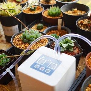 Image 5 - DIY Micro Automatische Tropf Bewässerung System 5 ~ 10 Töpfe Selbst Wasser Innen Sprinkler USB Lade Garten Bewässerung System