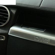 цена на ABS Chrome Interior Glove Box Molding Cover Trim For Land Rover Discovery 4 LR4 2010-2016 Car Accessory