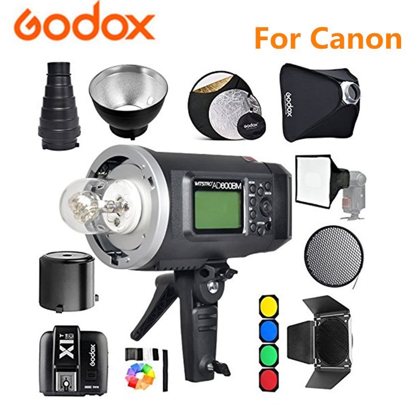 Godox AD600BM Studio Kit cm-Bowens Mount 600Ws GN87 1/8000 HSS Outdoor Flash Strobe Monolight + X1T-C Trigger 32