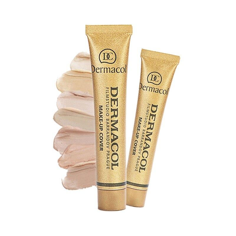2pcs Original Dermacol Make up Cover Primer Concealer Base Professional Face Dermacol Makeup Foundation Contour Palette Base