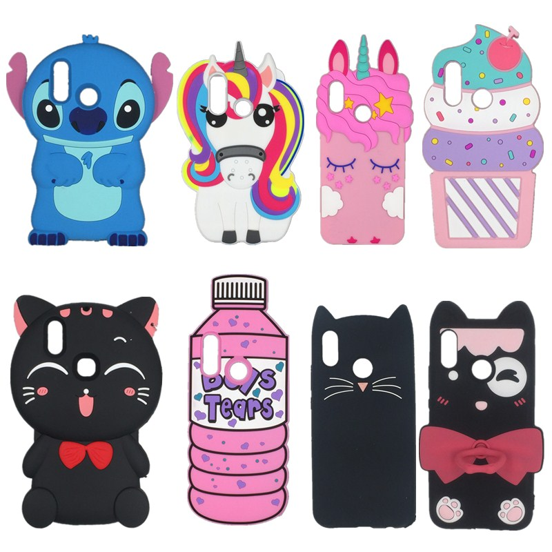 Huawei P30 Pro Cases 3D cartoon Unicorn