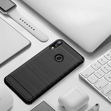 Case for Asus Zenfone Max Pro M2 ZB631KL Case Carbon Fiber Cover TPU bumper Soft TPU cover for Asus Zenfone Max M2 ZB633KL Shell new for mechrevo x6ti m2 a cover top case