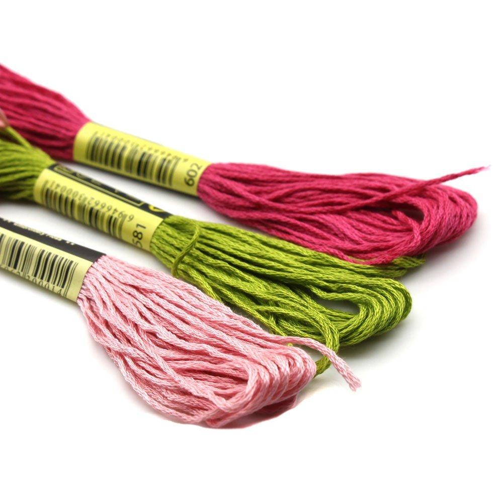 50 шт./компл. многоцветный мягкий хлопок вышивка
