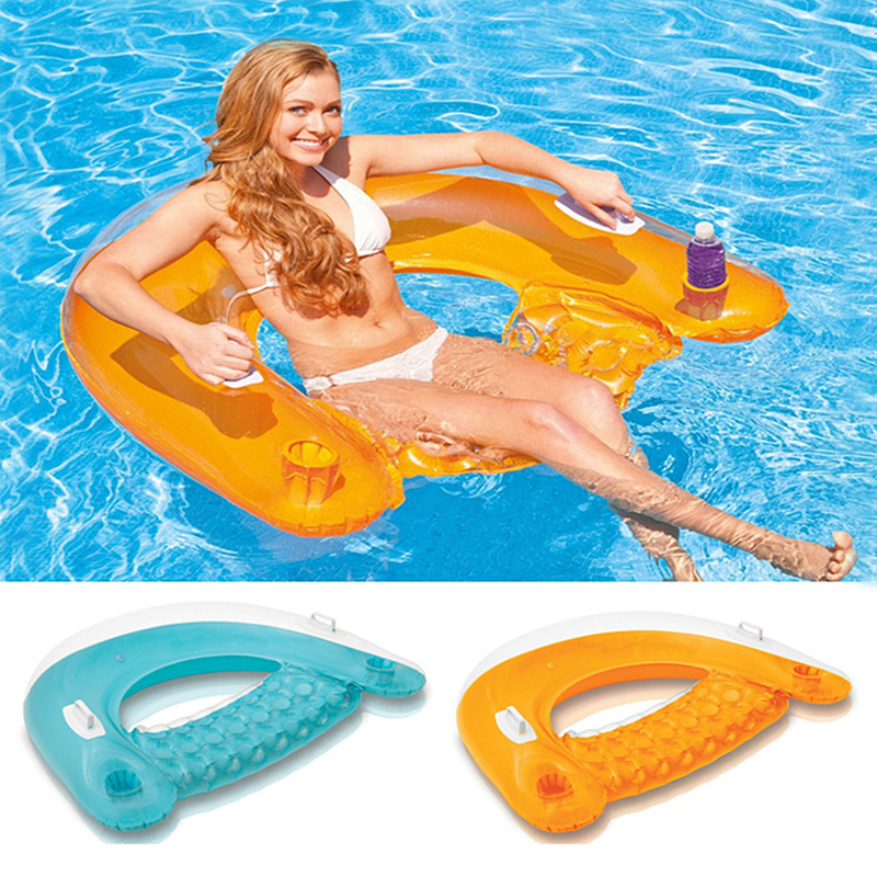 what are pool floats made of